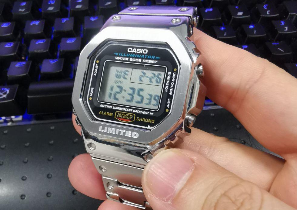 DW5600E-1Vカスタムメタルケース
