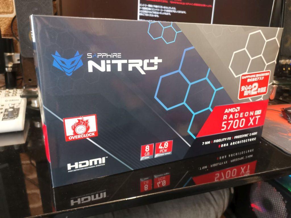 SAPPHIRE NITRO+ RADEON RX 5700 XT 外箱