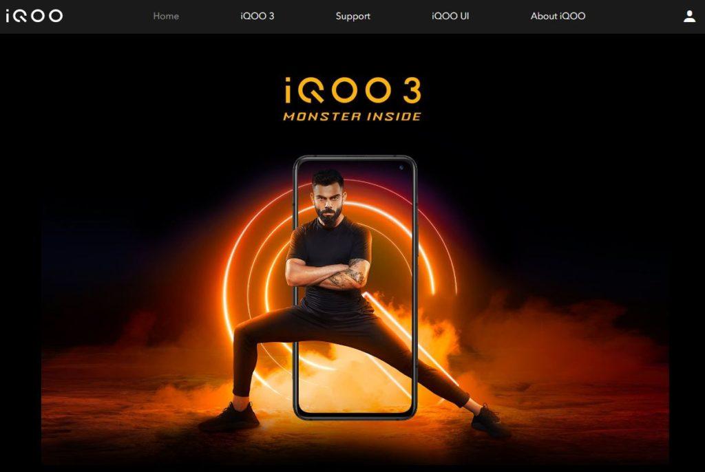 iQOO3 インド市場がメイン