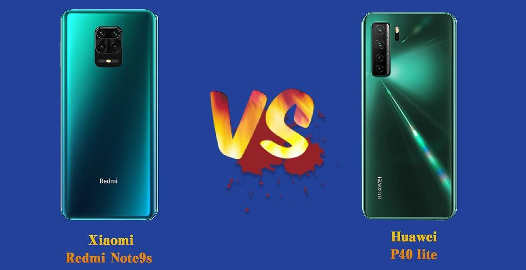 Round1  Redmi Note 9S VS Huawei P40lite
