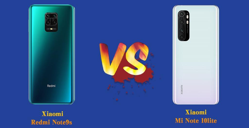 Round3  Redmi Note 9S VS Mi Note 10lite