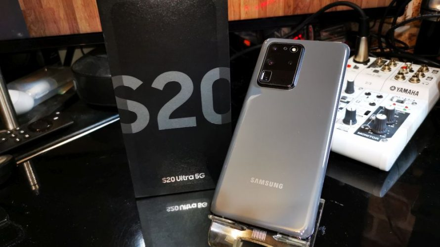SAMSUNG Galaxy S20 Ultra 1週間レビュー 実際使ってみて分かった所