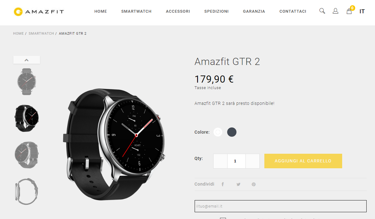 Amazfit GTR2 価格