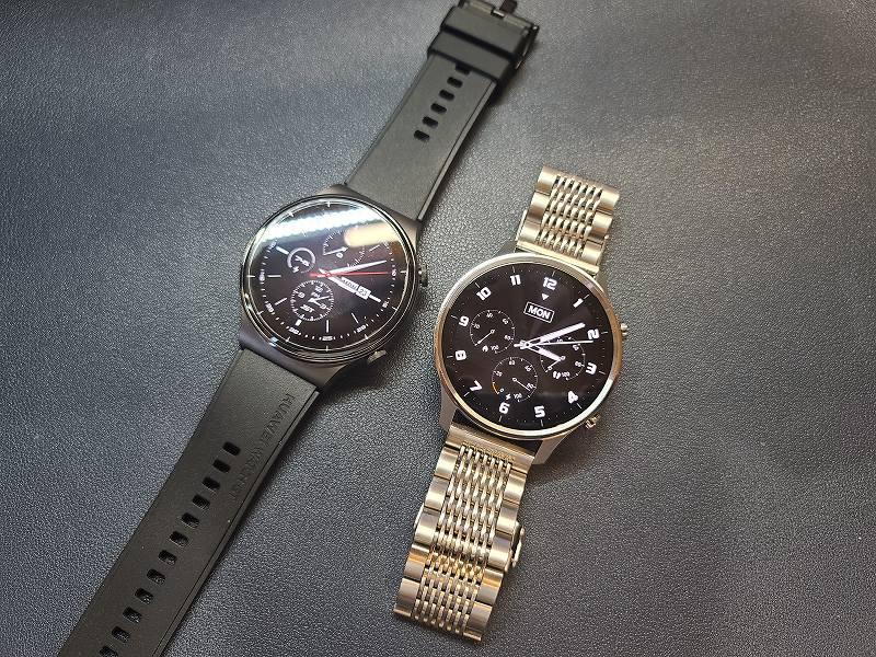 Xiaomi Mi Watch ColorとHUAWEI Watch GT2PRO