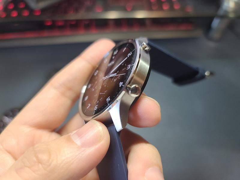 Xiaomi Mi Watch Color ヘアライン