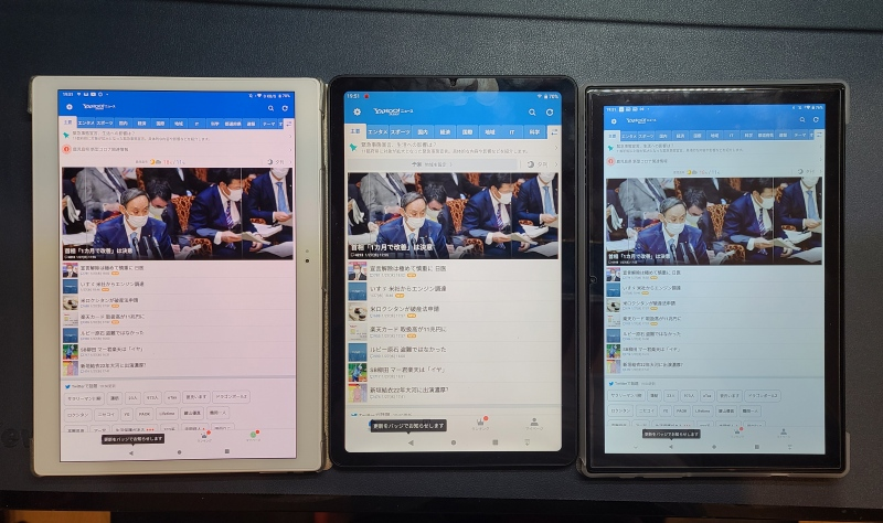 Alldocube iplay40とM40とX NEO