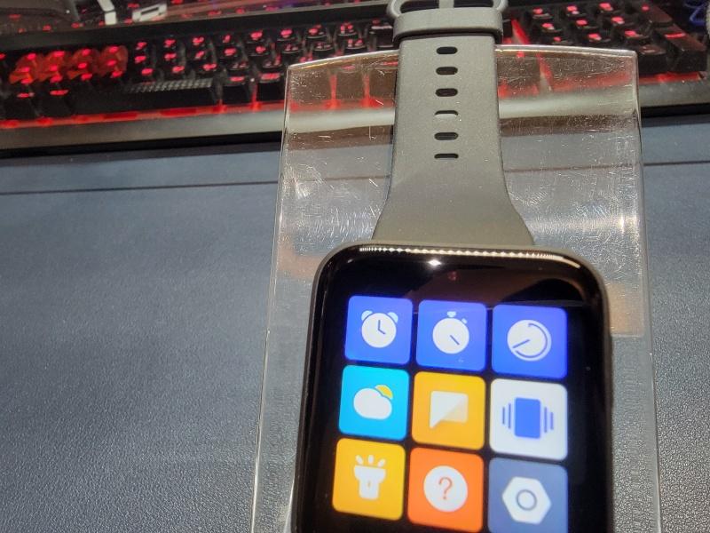 Mi Watch Lite調光センサー