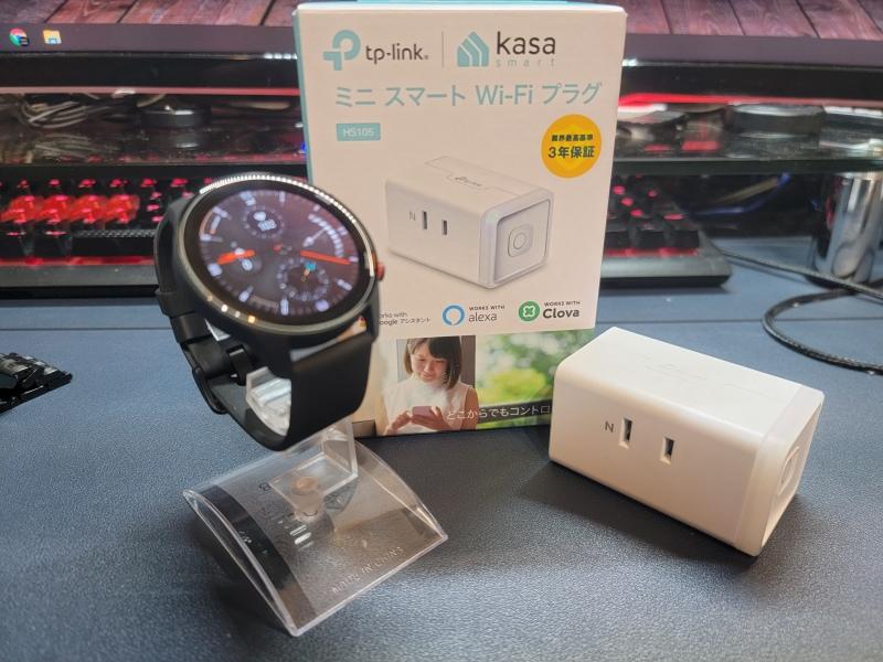 Xiaomi MI Watch でスマート家電操作