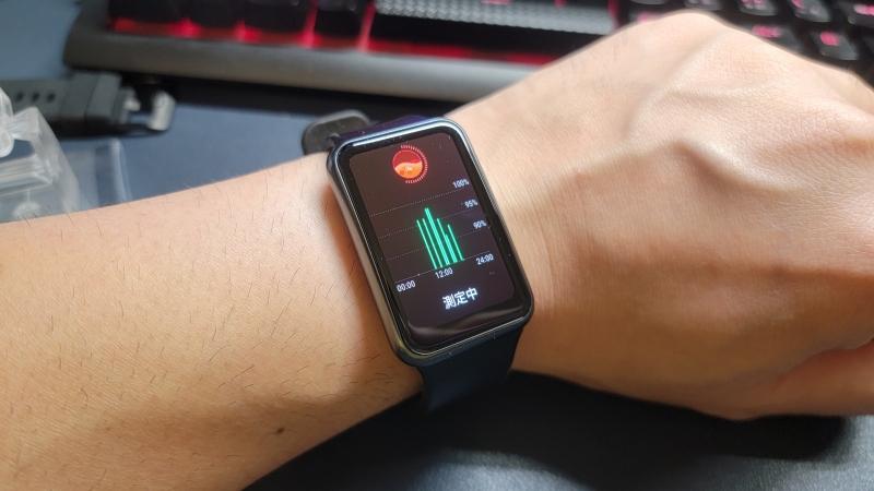 Huawei watch fit SpO2