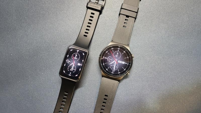 Huawei watch GT2Proと比較