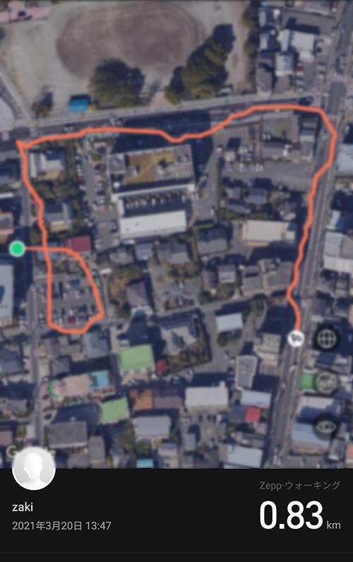 Amazfit GTR2 GPS精度