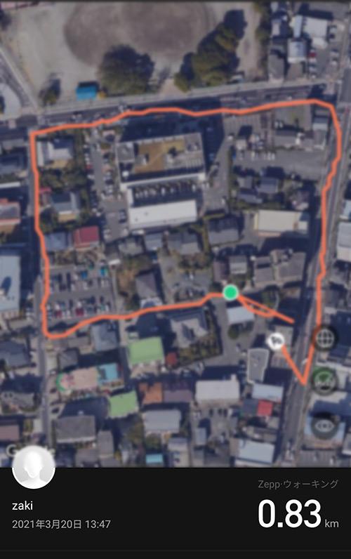 Amazfit T-Rex Pro GPS精度