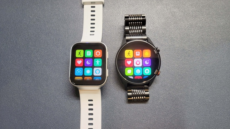 Mi Watchとメニュー比較