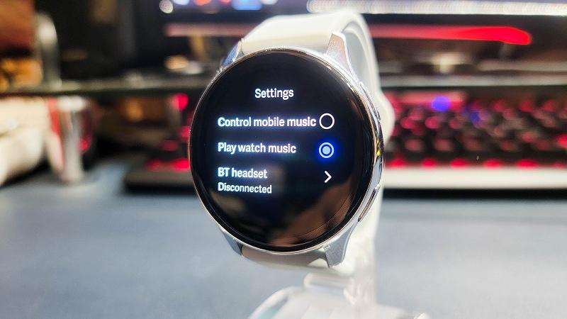 OnePlus Watch 再生はブルートゥースのみ