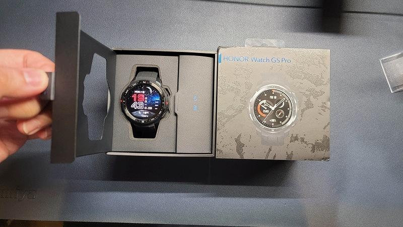 Honor Watch GS PRO 開封