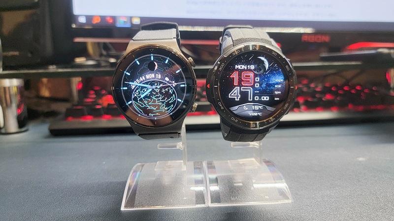 Honor Watch GS PROとHuawei Watch GT2 PRO比較