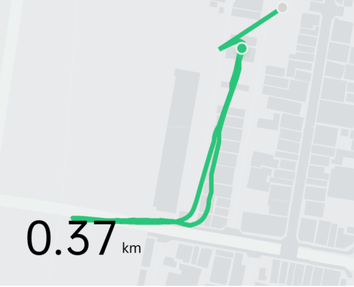 OnePlus Watch GPS精度 再検証した結果