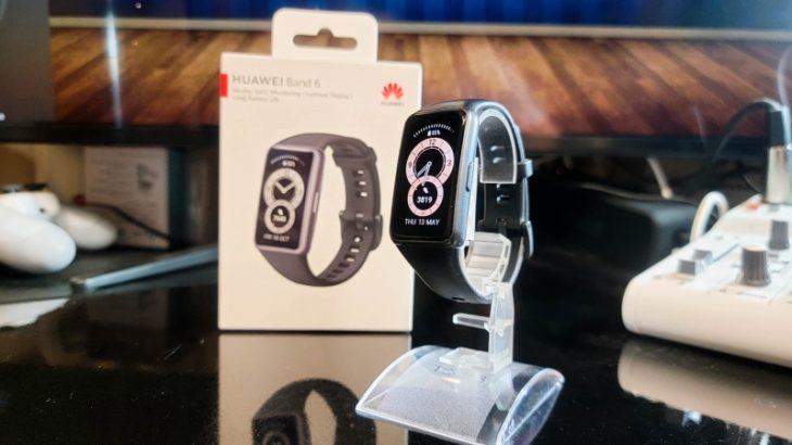 Huawei Band6レビュー 省電力設定でバッテリー長持ち。絶妙なサイズ感でMi Band6の強力なライバル!スマートバンドの覇権になるか?!