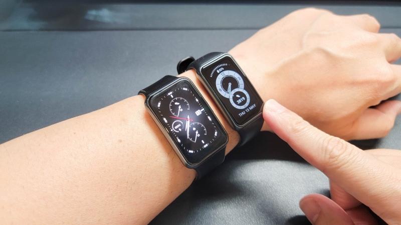 Huawei Band6 Watch FITと比較