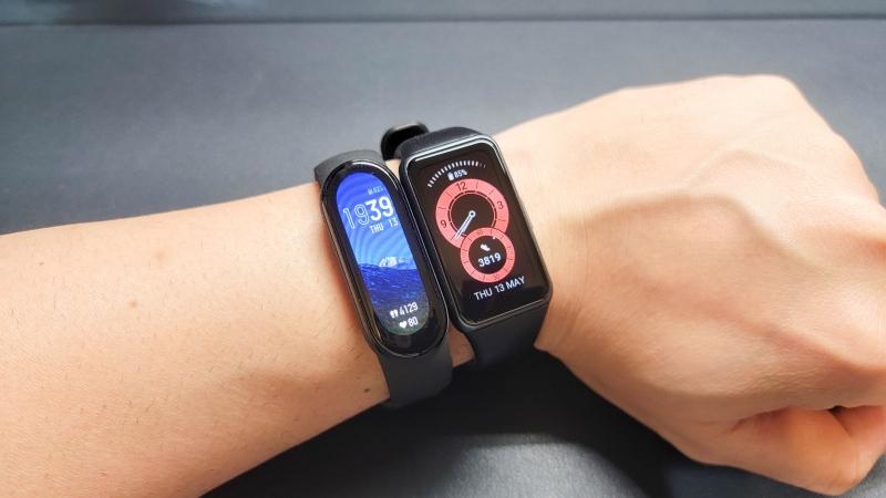 Huawei Band6とMiband6