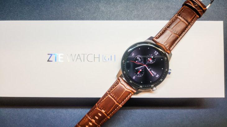 ZTE Watch GT 日本語通知可能 有機EL搭載で1万円の隠れコスパスマートウォッチ!?