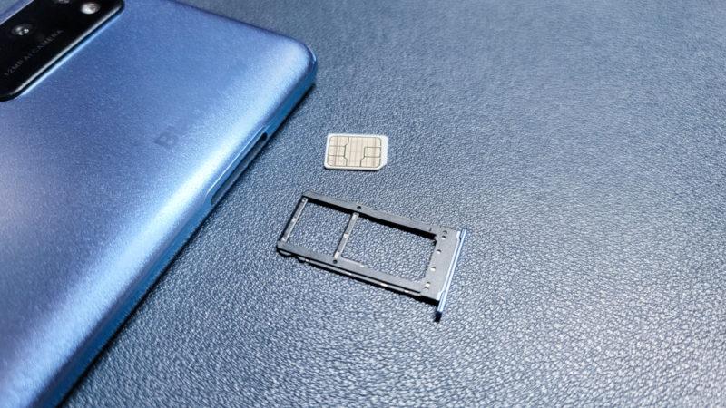 BlackView A100 SIMトレー DSDS