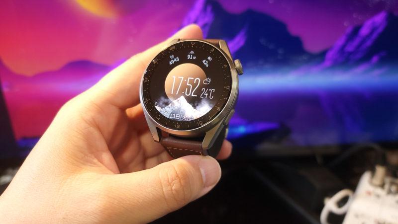 HUAWEI WATCH3PRO 最高峰のデザインと品質