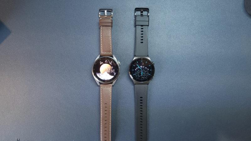 Huawei Watch GT2 ProとHuawei Watch3 PRO比較