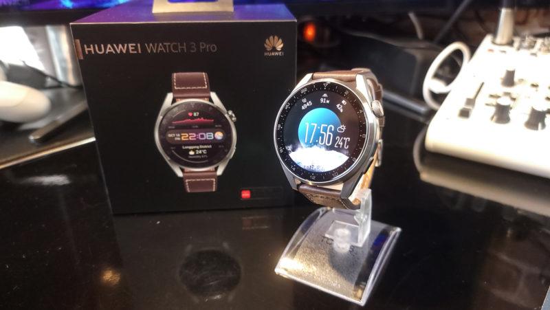 Huawei Watch3 PROのディティール