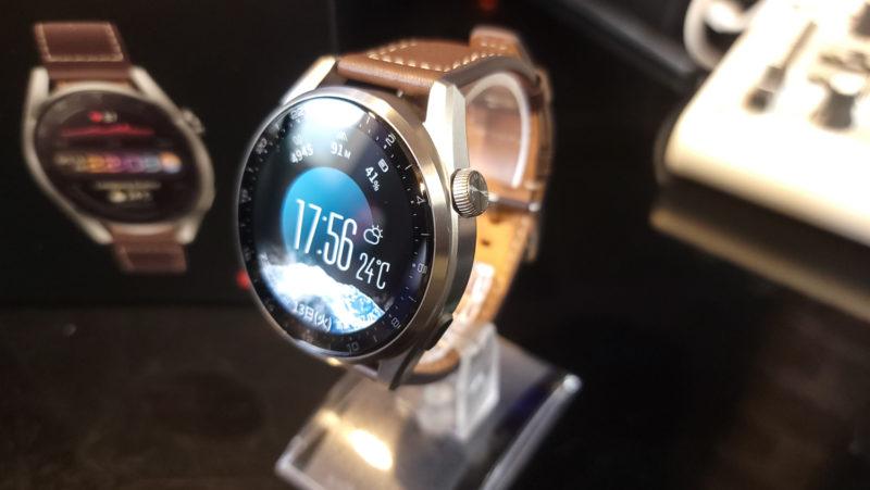Huawei Watch3 PRO リューズボタン