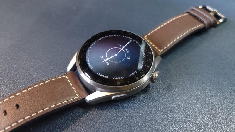 Huawei Watch3 PRO ディスプレイ
