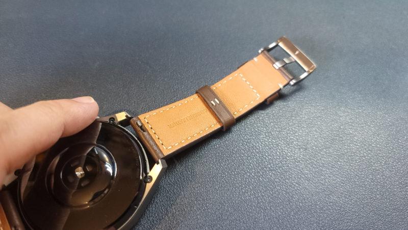 Huawei Watch3 レザーストラップ