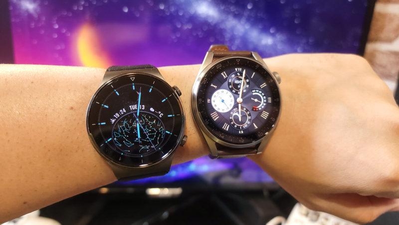 Huawei WATCH 3Pro GT2と比較