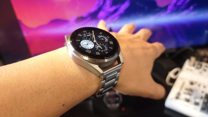 Huawei Watch3Pro メタルストラップ