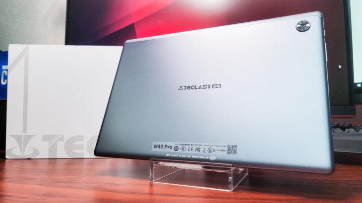 Teclast M40 Pro 実機レビュー 2万円台のコスパエントリータブレット スピーカーが4基にパワーアップ