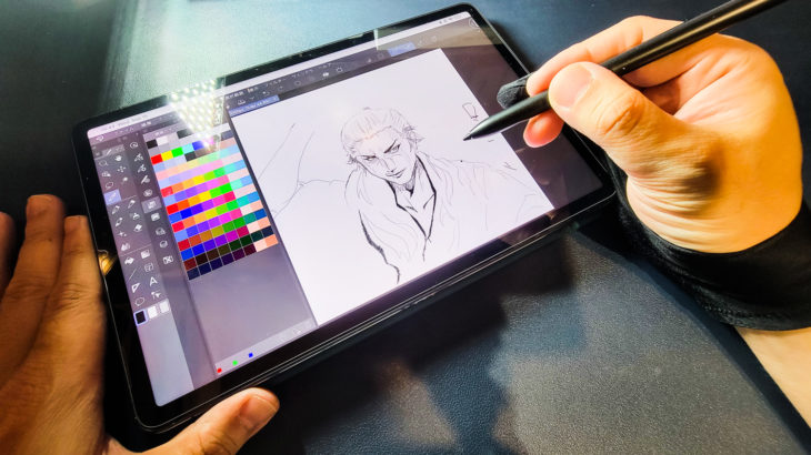 Xiaomi Pad 5 スタイラスペン クリップスタジオとの相性 使用感レビュー パームリジェクションが課題